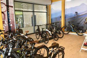 Magasin de vélos électriques à Lisbonne
