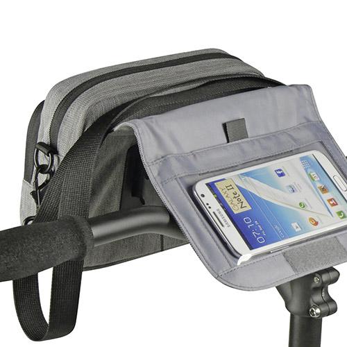 Bolsa Klickfix SmartBag Touch cinza