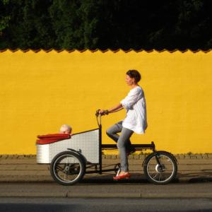 City changer cargo Bike Lisbon