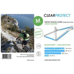 Kit de proteção CLEARPROTECT M brilhante