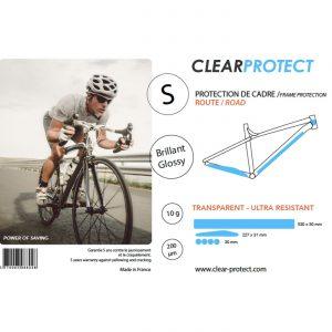 Kit de proteção CLEARPROTECT S brilhante para quadro