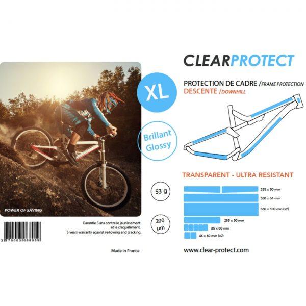 Kit de proteção CLEARPROTECT XL Brilhante para quadro