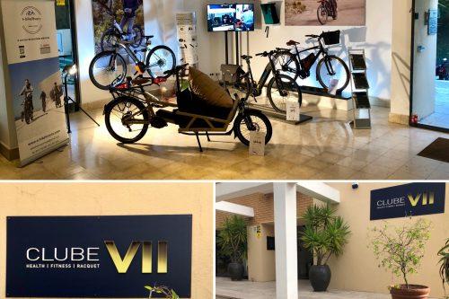 A EBIKELOVERS em parceria com o CLUBE VII Health-Fitness-Racquet