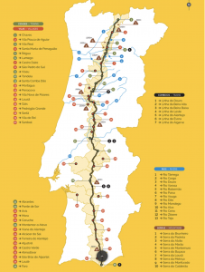 Mapa Estrada Nacional 2