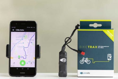 GPS Tracker for Bosch E-Bike Powunity