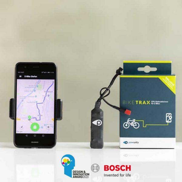 GPS Tracker for E-Bike Powunity
