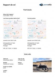 GPS Tracker para bicicletas elétricas