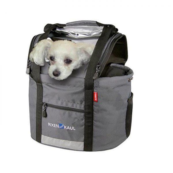 Cesto dianteiro para cão Klickfix Doggy Shopper