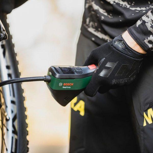 Bomba de ar sem fio para bicicletas da BOSCH