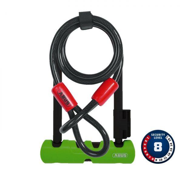 Cadeado ABUS Ultra Mini 410 + loop cable