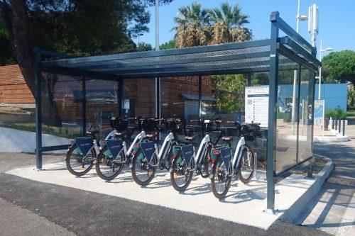 Estacionamentos para bicicletas